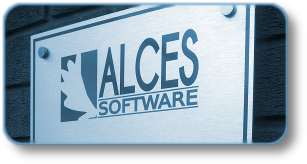 Alces Software sign.